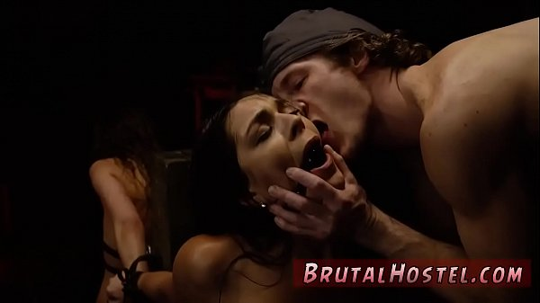 Brutal, Creampie compilation, Ball gagged