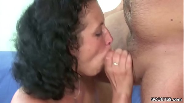 Hairy mom, Mom seduces