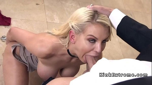 Tied up, Big tits anal